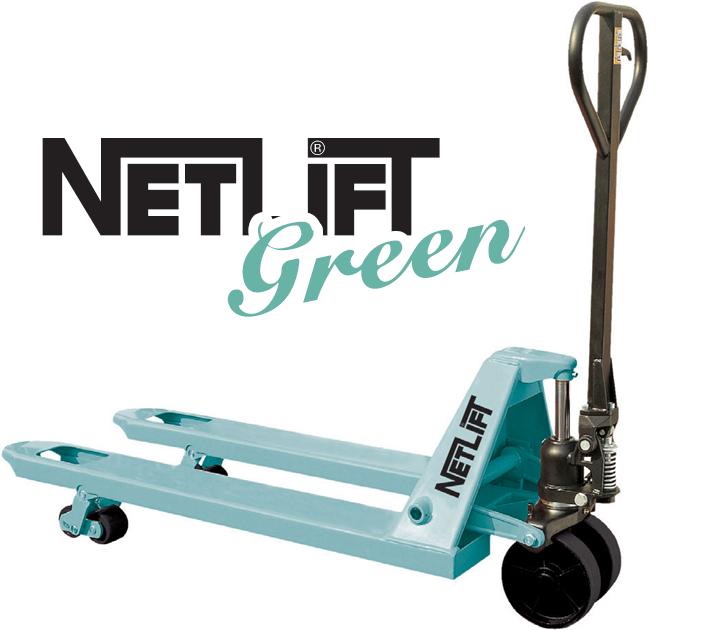 NETLİFT GREEN TRANSPALET MODELLERİ