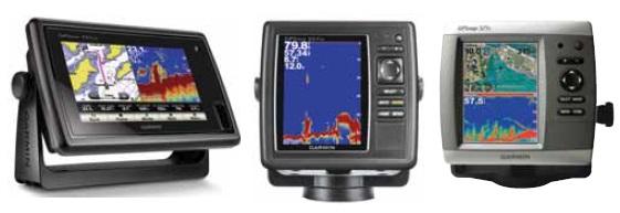 Garmin Balık Bulucu ve GPS LER